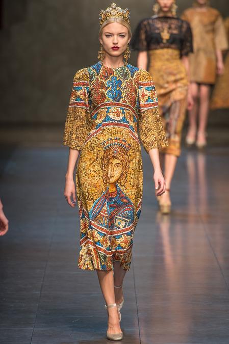 Dolce & Gabbana Fall 2013 look 10