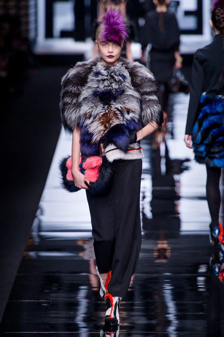 Fendi Fall 2013 look 37