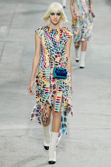 Chanel spring summer 2014 look 87