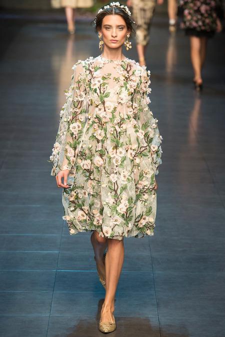 Dolce & Gabbana spring summer 2014 look 16