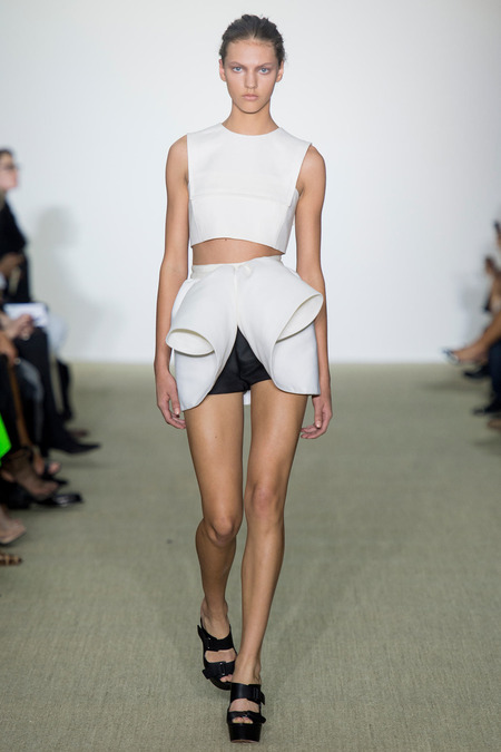 Giambattista Valli spring summer 2014 look 1